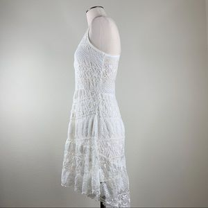 love on a hanger Dresses - Love on a Hanger- White High-Low Lace Dress SZ MJ